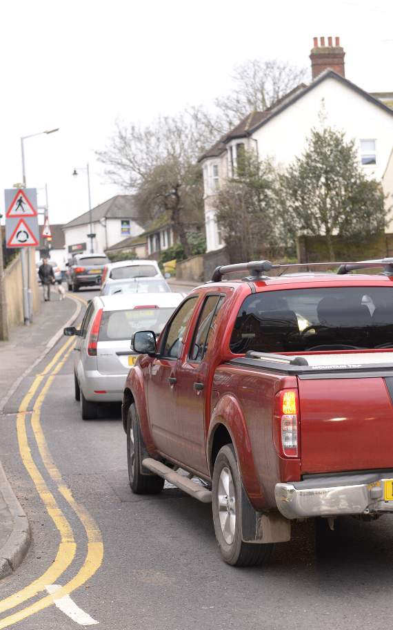 TRAFFIC: Congestion in Canvey Island