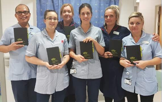 New diaries enable families of critically ill patients at east London hospitals to record information and events
