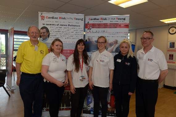 Staff and students at Hornchurch secondary screened to identify potential heart issues on cardiac risk awareness day