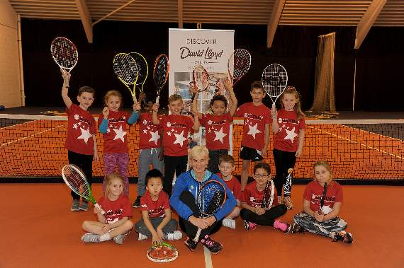Tennis tykes given masterclass in Romford fitness centre by Judy Murray