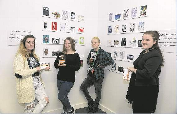 Photography students at Barking and Dagenham College channel Pablo Picasso for charity postcard initiative