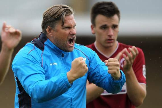 Rod Stringer: 'Its been a good day at the office' - Chelmsford City 5-1 Gosport Borough - Reaction