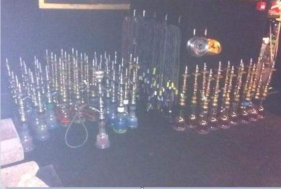 More than 200 shisha pipes seized in Dagenham raid by council inspectors