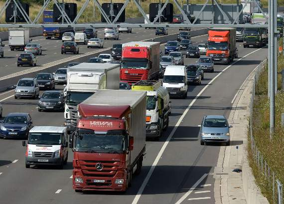 TRAFFIC: Collision involving two lorries blocking M25, warns Essex Council