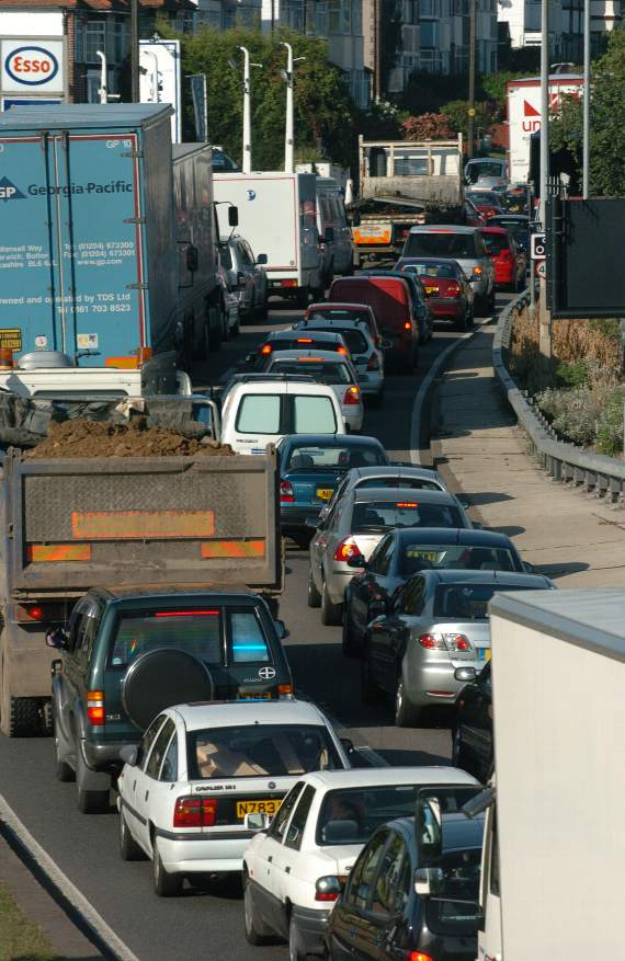 TRAFFIC: Delays between Five Bells Interchange and Stanford-le-Hope